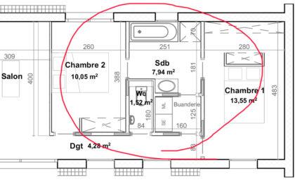 réaliser plan salle de bain moderne