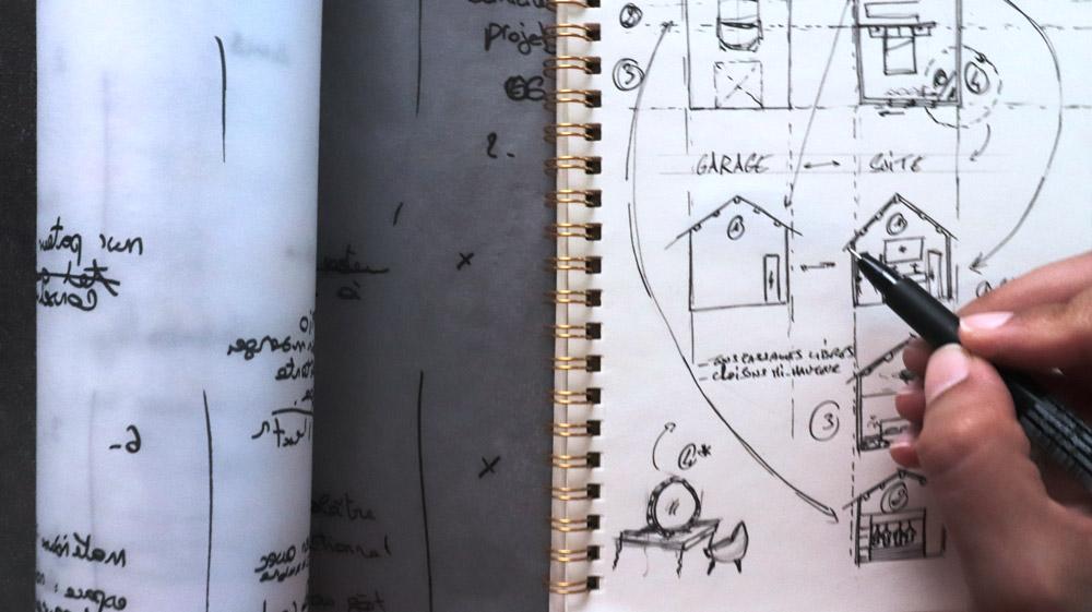 Transformer un garage en chambre habitation architecture intérieure