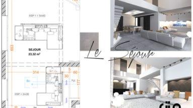 Avant projet sommaire programme d'apprentissage d'architecture intérieur meilleure solution